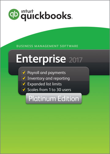 QuickBooks Enterprise Platinum 2017